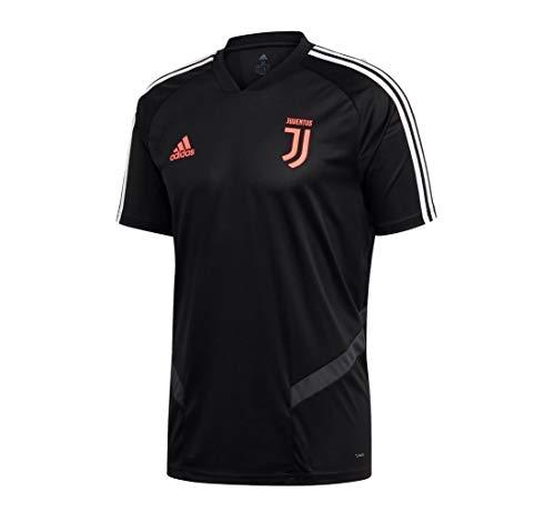 Adidas - Camiseta de Entrenamiento de la Juventus de Turín, Italienische Serie A, Color Negro/Gris, tamaño Extra-Large