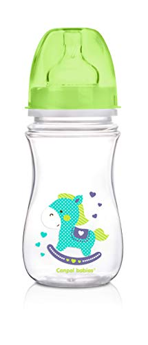 Canpol Babies CB35221V - Biberón anticólicos boca ancha