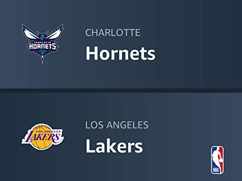 Charlotte Hornets at Los Angeles Lakers