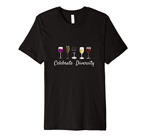 Wine Glass Saying Quote Drink Wine Related Gift Premium T-Shirt