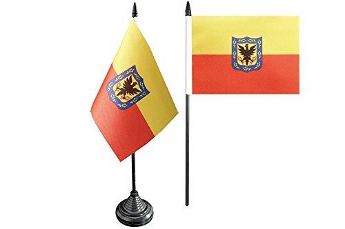 Flaggenfritze® Tischflagge Kolumbien Bogota - 10 x 15 cm