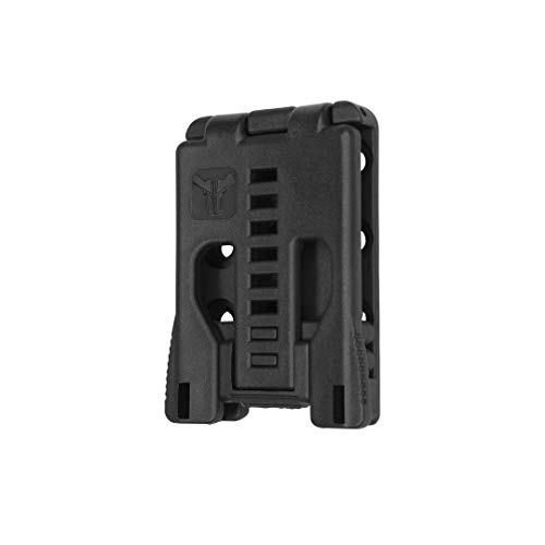 Blade-Tech The Original Tek-Lok Belt Attachment for Holsters, Mag Pouches, and More (Black with No Hardware, 1 Pack)