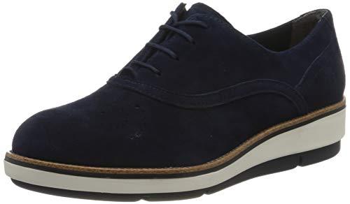 Tamaris 1-1-23752-24, Zapatos de Cordones Derby Mujer, Azul Marino 805, 38 EU