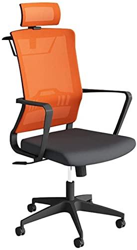 Bar pall bekväm gäststol-dator skrivbord och stol, svart stol Orange stol kontor svivelstol konferensstol verkställande stol personal stol mottagning stol kontorsmaterial (färg: svart)