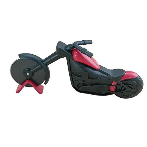 Bibike pizza chopper moto moto a forma di pizza affettatrice cutter