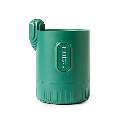 Carniway USB Cool Mist Humidifier Cactus Portable Humidifier Automatic...