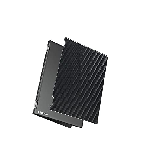 Vaxson 2 Unidades Protector de pantalla Posterior, compatible con Lenovo YOGA A12 12.2, Película Protectora Skin Piel Negro [No Carcasa Case ]