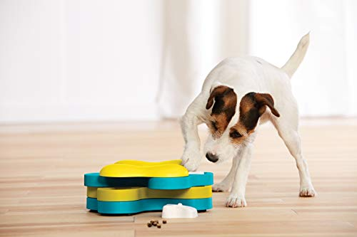 Dog Tornado Treat Dispensing Dog Toy Brain and Exercise Game for Dogs by Nina Ottosson
