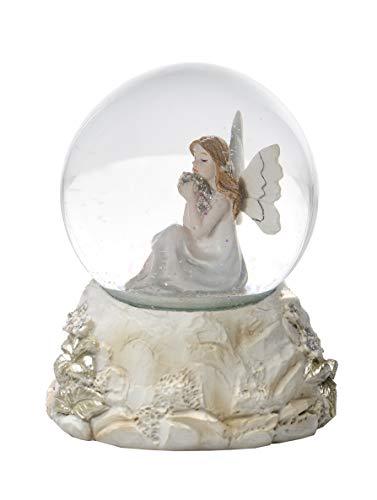 Mousehouse Gifts Elegante Boule à Neige Figurine fée pour Enfants et Adultes Filles