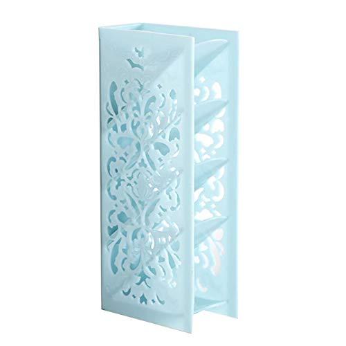 Caja de almacenamiento de mesa de cuatro capas de plástico organizador de escritorio de papelería caso titular decoración contenedor de almacenamiento de mesa