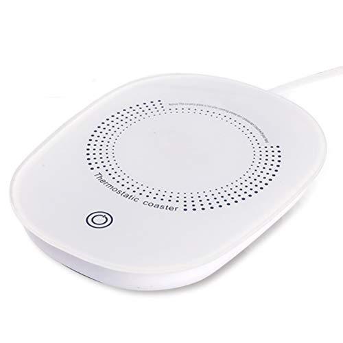 Posavasos Calefacción USB, Taza Café Posavasos Más Calientes Calentador de Tazas Eléctrico...