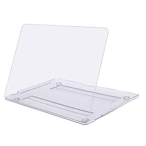 MOSISO Funda Dura Compatible con 2020 2019 2018 2017 2016 MacBook Pro 13 A2338 M1 A2289 A2251 A2159 A1989 A1706 A1708, Ultra Delgado Carcasa Rígida Protector de Plástico Cubierta, Claro Transparente