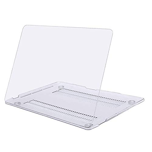 MOSISO MacBook Pro 13 inch Case 2020 2019 2018 2017 2016 Release A2338 M1 A2289 A2251 A2159 A1989 A1706 A1708, Plastic Hard Shell Case Cover Compatible with MacBook Pro 13 inch, Clear