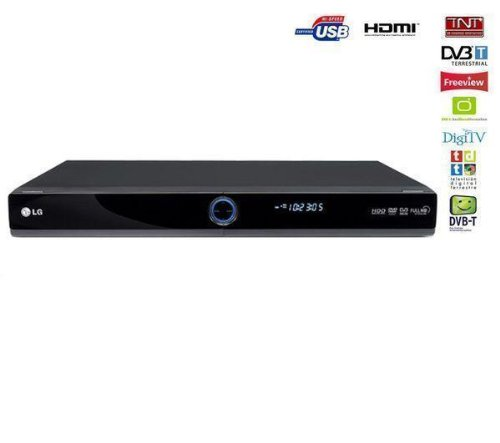 LG RHT-497H - Reproductor de DVD y grabadora (Incluye Cable HDMI SWV3432S/10, Conectores chapados en Oro de 24 Quilates, 1,5 m)
