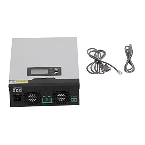 1000W Solar Hybrid Inverter 230V AC, Aluminum Alloy Pure Sine Wave All-in-One for Home Use, Support LCD Settings Voltage Current Overload, Overheat and Short Circuit Protection