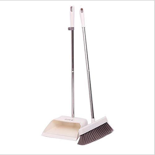 FTFDTMY Conjunto De Escoba Cabello Suave Plástico, Herramienta Cómodo Y Duradero De Limpieza para La Limpieza De Suelos Casa