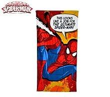 Spiderman 2454140031 - mv92259 Toalla Infantil Motivo de (70 x 140 cm / 100% Algodon)