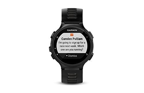 Garmin Forerunner 735XT, Montre de Course GPS Multisports avec fréquence Cardiaque, Noir/Gris