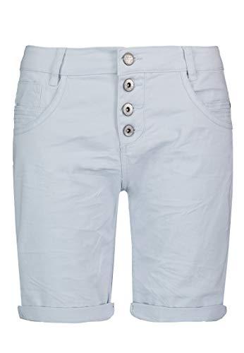 Urban Surface Damen Stoff Bermuda Shorts aus Stretch-Twill Blue XL