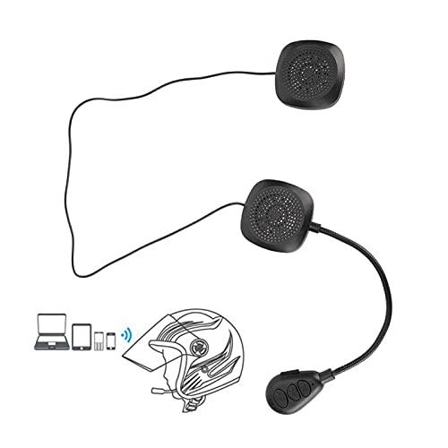 Shipenophy Accesorio de Motocicleta Auriculares Bluetooth Personalizados para Ciclismo para un Accesorio práctico para una conducción Segura al Aire Libre