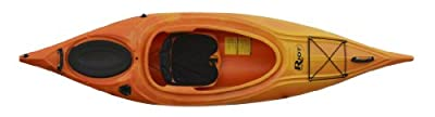 quest9.5YR Riot Kayaks Quest 9.5 Flatwater Recreational Kayak, Yellow/Red from Kayak Distribution