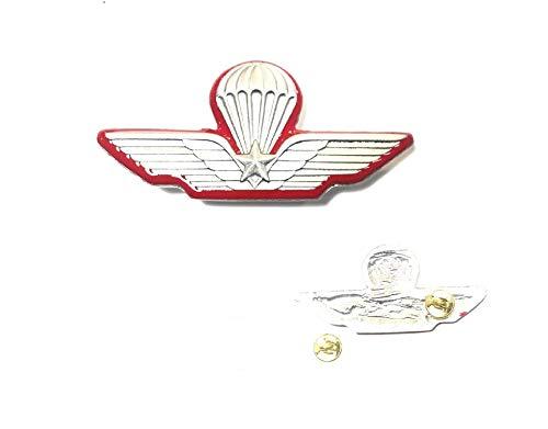GS1 Patent-Anstecknadel, Militär, mit rotem Rand, von Lancio und Carabinieri, offizielles italienisches Produkt, Art.P-DIR-L