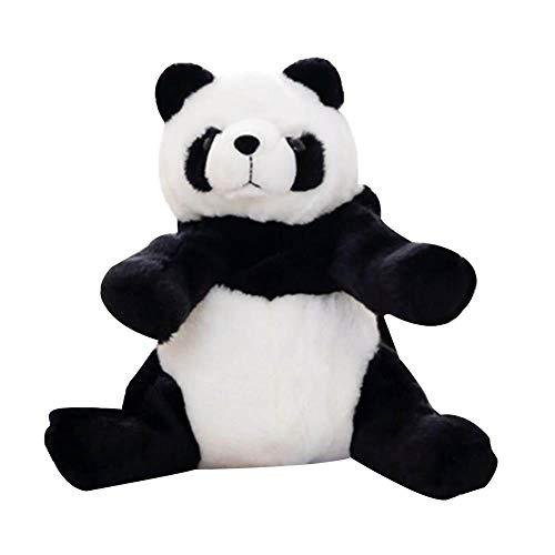 NGHXZ Plüsch-Panda-Rucksack, Stofftier mit integrierten Rucksack-Speicher-Halter-Satz für Kinder-Reise-Andenken-Geschenk