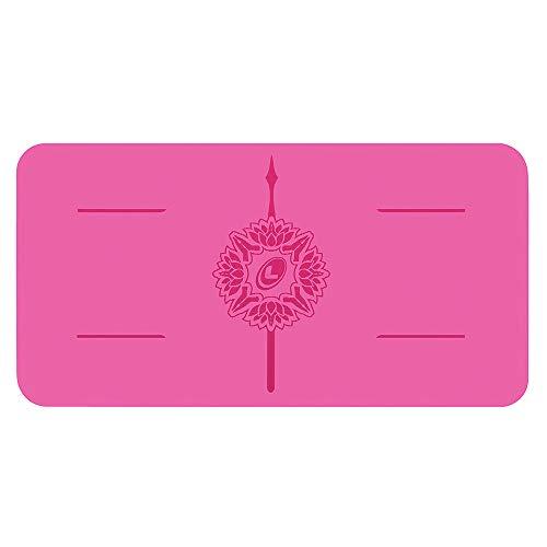 Liforme Yoga Pad - Umweltfreundliches und Rutschfestes Yoga-Kniepolster, Ellbogen und Hände - Biologisch Abbaubare und Krifffeste Grip-Yoga-Matte Mit dem Einzigartigen Ausrichtungssystem