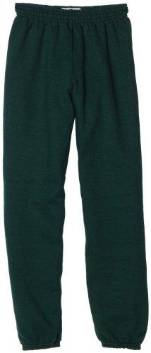 Soffe Big Boys' Sweatpant, Dark Green, Medium
