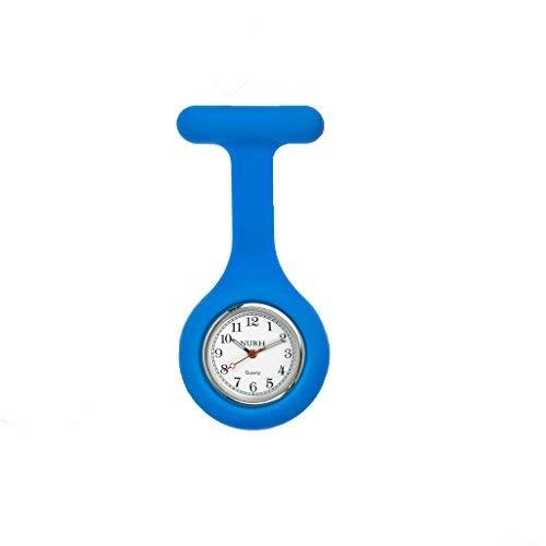 NURH Reloj Enfermera Silicona, Movimiento Y BATERIA JAPONES Primera Calidad, 3 años de Garantia.COLABORAMOS con F.Theodora.