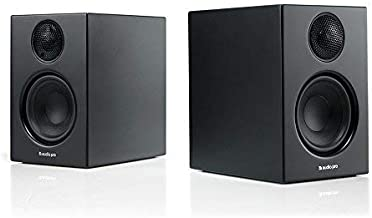 Audio Pro Addon T14 Bluetooth Wireless Stereo Bookshelf Speakers - Pair - High Fidelity - Black
