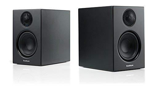 Audio Pro Addon T14 Bluetooth Wireless Stereo Bookshelf Speakers - Pair - High Fidelity - Black