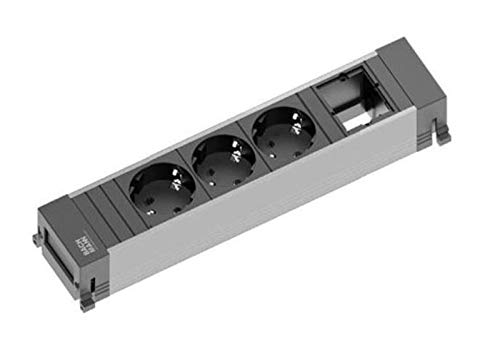 BACHMANN Power Frame Medium 3x randaarde, 1x ABD
