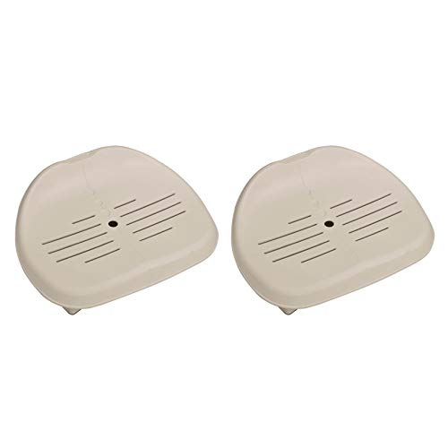 Intex Removable Slip-Resistant Seat For Inflatable Pure Spa Hot Tub (2 Pack)