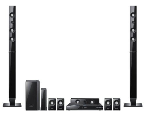 Samsung HT-C6730 W 7.1 Blu-Ray Heimkinosystem (Full-HD, DivX, 1330 Watt) perlschwarz