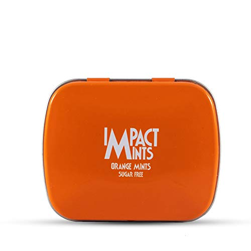 Impact Mints Sugar Free Mints Orange 14g, 14 g