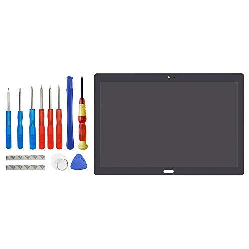 Vvsialeek Pantalla LCD compatible con Lenovo Tab P10 TB-X705 TB-X705L TB-X705F TB-X705N Negro Repuesto Pantalla táctil LCD con kit de herramientas