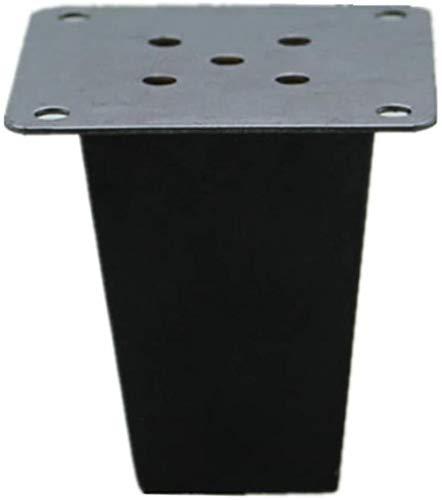 Estable Patas de la mesa de madera maciza Sofá patas cuadradas Negro Pies patas de madera patas de la mesa de apoyo Pies Mueble de televisión patas de muebles de mesa de café Piernas Duradero
