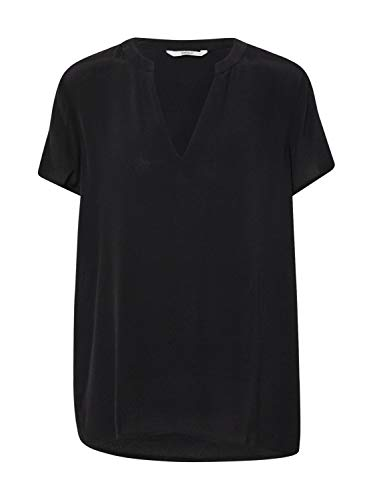 ONLY Damen ONLMOLLY SS V-Neck WVN Bluse, Black, 38