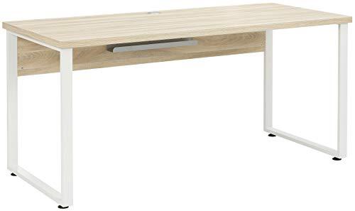 MAJA Möbel Set+ Schreibtisch, Metall, Eiche Natur, One Size