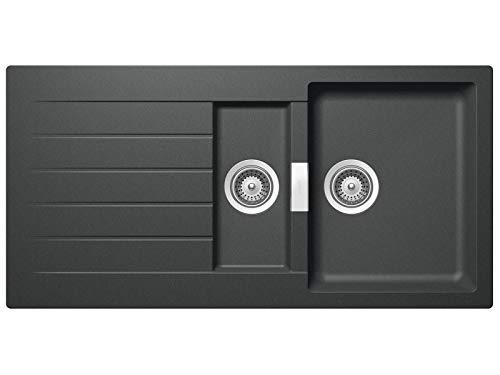 Schock Primus D-150 A Asphalt - PRID150AGAS Granitspüle Küchen-Spüle Spülbecken