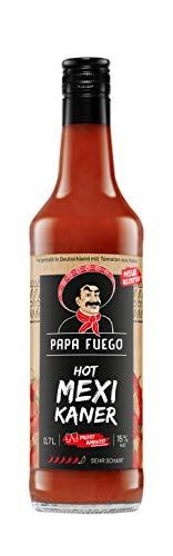 Papa Fuego Mexikaner (1 x 0.7 l) | Sehr scharfer Tomatenschnaps