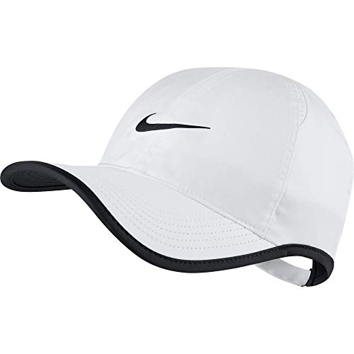 Nike Herren Court Featherlight Cap, White/Black, One Size