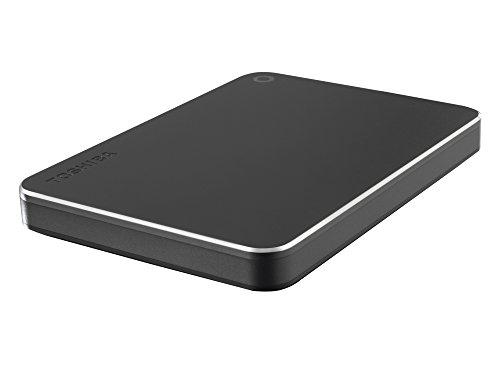 Toshiba Canvio 3TB Premium Mac Externe Festplatte (6,4 cm (2,5 Zoll), USB 3.0) dunkelgrau