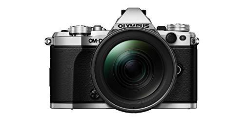"""Olympus OM-D E-M5 Mark II Titanium - Cámara Evil de 16.1 MP (Pantalla táctil de 3"""", Zoom motorizado Pancake, estabilizador en 5 Modos, WiFi), Color Negro"""