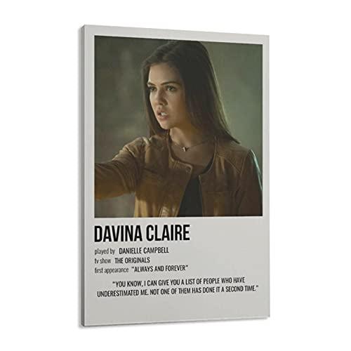 Davina Claire - Póster de lienzo para pared, decoración de salón, dormitorio, 30 x 45 cm