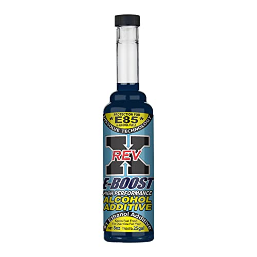 REV X E-Boost E85 & Alcohol Fuel Additive - 8 fl. oz Treats 25 Gallons