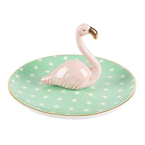 Sass & Belle Schmuckständer Teller Flamingo (lumi030)