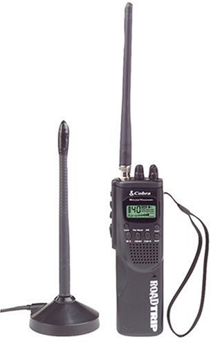 Cobra HHRT-50  RoadTrip CB Radio 40-Channel Access, Dual Channel Watch, NOAA Alerts