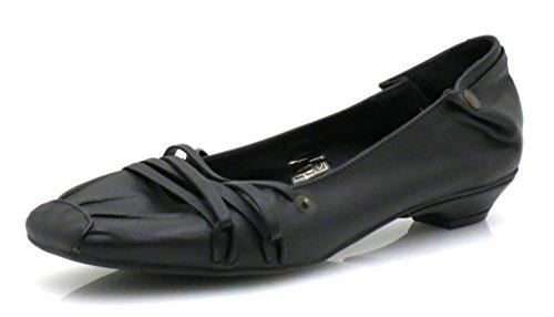 Isabelle F Lederballerinas 2125 schwarz-37